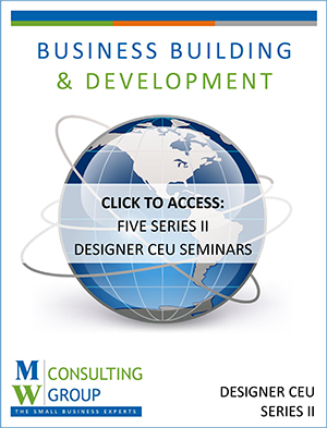 Workbook - Designer CEU Series - Business and Development