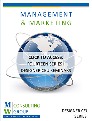 Workbook - Designer CEU Series - Management & Marketing