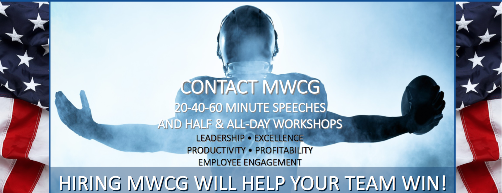 Is Your Business NFL Worthy MWCG